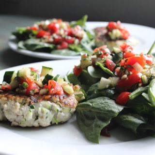 Brushetta Turkey Burgers