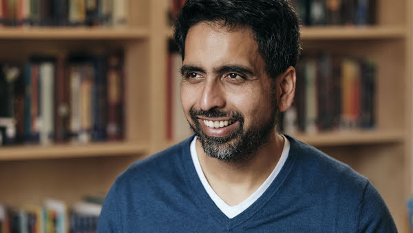 Photo of Sal Khan, founder of Khan Academy