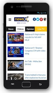 NewsX: Live English News App- screenshot thumbnail
