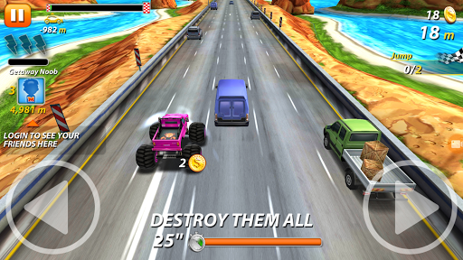 Furious Road Racing World - screenshot