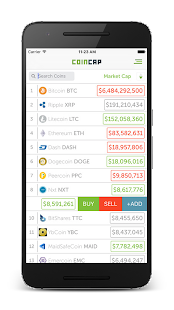 CoinCap.io- screenshot thumbnail