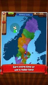 GeoFlight Sweden - Geography screenshot 12