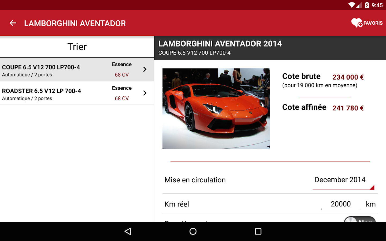 La Centrale voiture occasion- screenshot