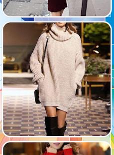 Women Winter Dress - náhled