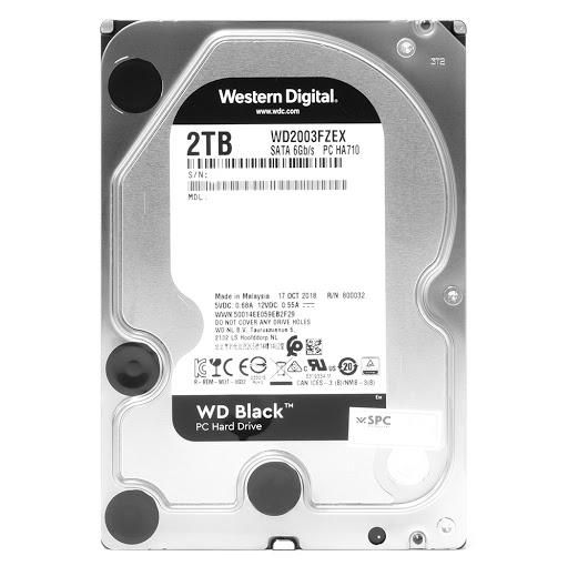 ổ cứng HDD WD Black 2TB Sata3 (WD2003FZEX)