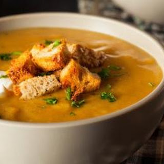 Creamy Vegetable Soup.