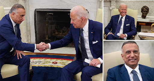 Joe Biden announces end of Iraq combat mission after meeting with Iraqi prime minister