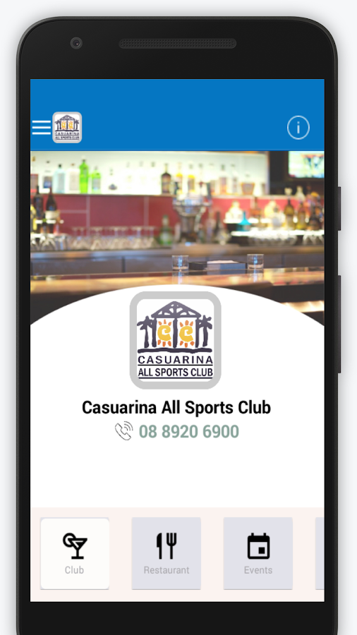 Casuarina Sports Club Patron- screenshot