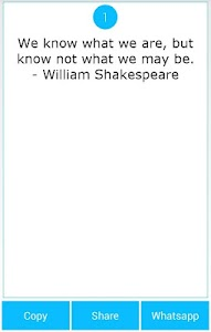 101 Great Saying by Shakespear screenshot 13