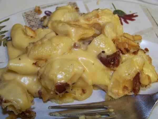 Bacon Crusted Mac 'n Cheese Recipe