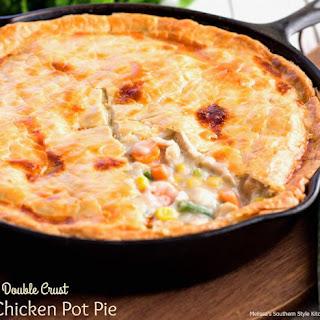 Double Crust Chicken Pot Pie.