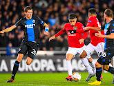 Club Brugge en Manchester United hebben deze avond 1-1 gelijkgespeeld