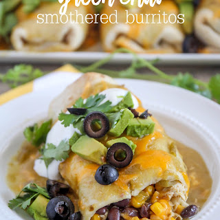 Smothered Green Chili Burritos Recipes