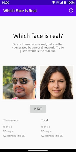 Which Face Is Real? 1.0 screenshots 1