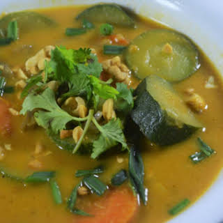 Pumpkin Vegetable Curry (Gluten-Free, Grain-Free, Vegan.
