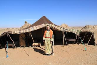 Photo: Arja dressed as a Berber Princess