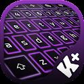 Violeta de neón Keyboard icon