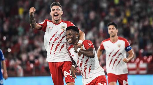 Almería 3 - Tenerife 1: este equipo es una bomba