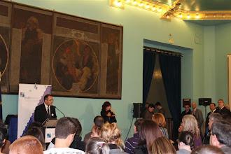 Photo: Presentación a cargo del Presidente de CADIS Huesca