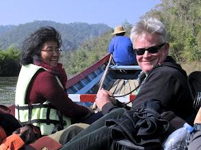 Photo: Jessica and David enjoying the ride