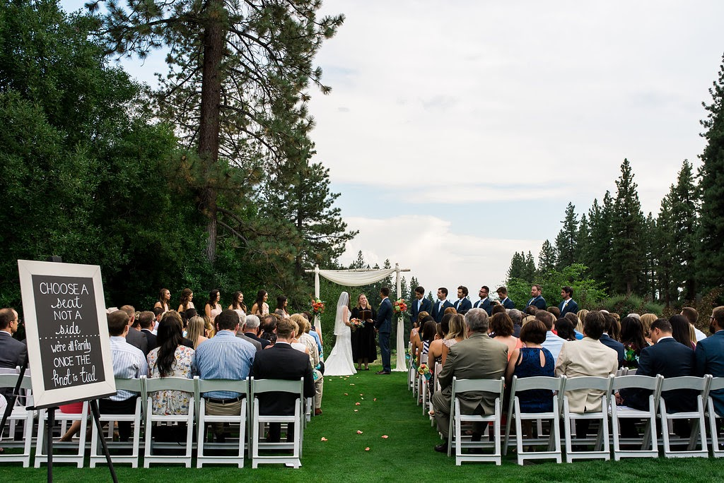 Chateau at Incline Village Wedding