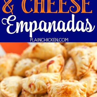 Ham and Cheese Empanadas.