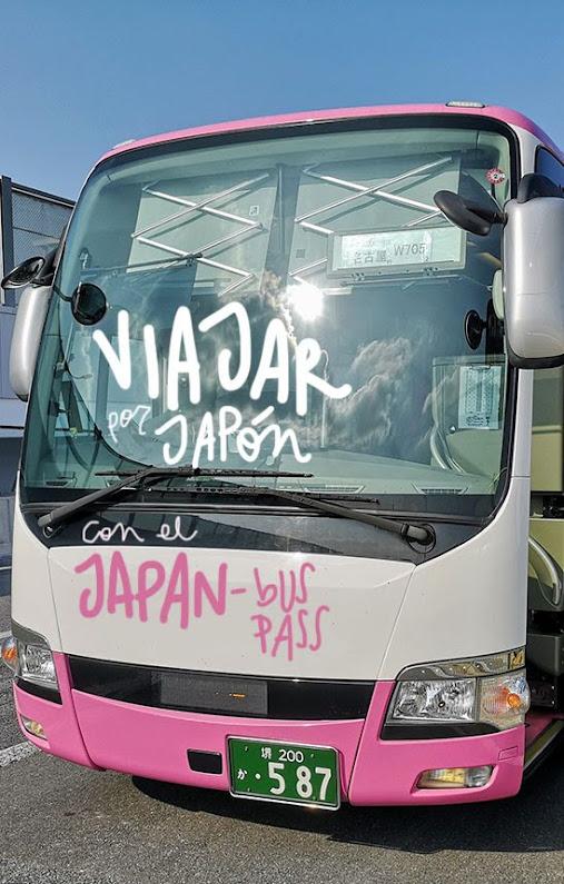 pase bus japón