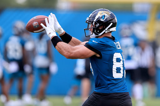 NFL fans had a lot of reactions to seeing Tim Tebow looking jacked at Jaguars practice