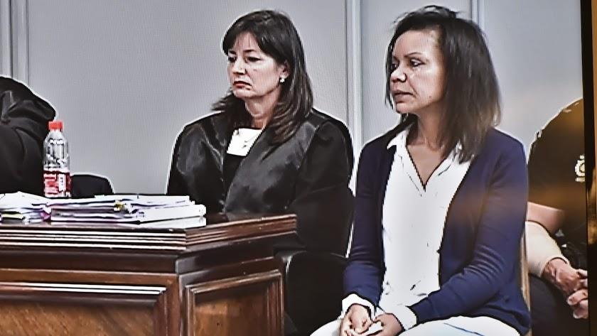 Ana Julia Quezada, durante el juicio.