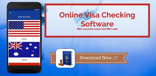 Online Visa Check: Online visa checking Software - Apps on Google Play