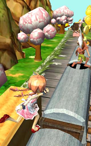 Télécharger Gratuit Teen Princess Dash - Subway Jungle Escape  APK MOD (Astuce) screenshots 5