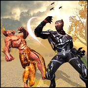 superhero پانچ در مقابل جنایت جنگی هیولا