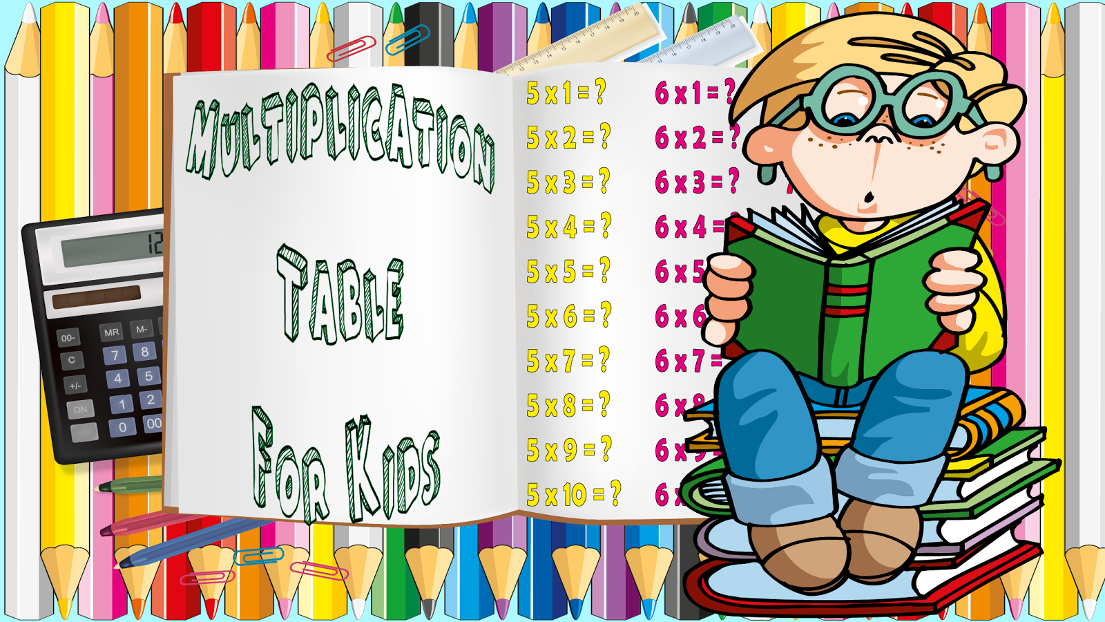 Multiplication table for kids android apps on google play - Times table games for children ...