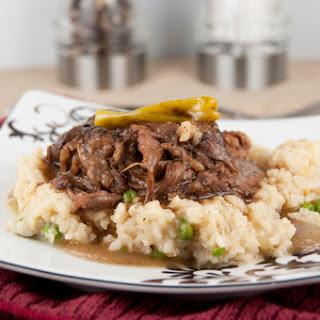 Slow Cooker Mississippi Pot Roast.