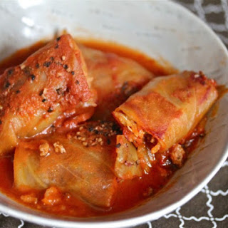 Smoky, Spicy Cabbage Rolls.