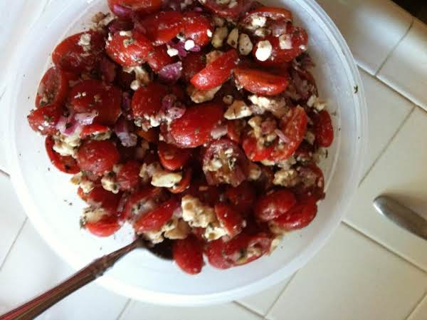 Tomato Feta Salad Recipe