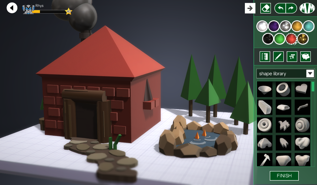 Makers Empire 3D - 3D Modeling- screenshot