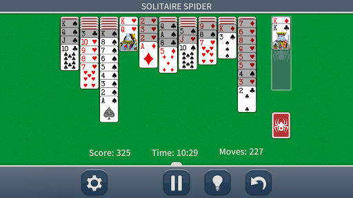 Spider Solitaire Pro screenshot