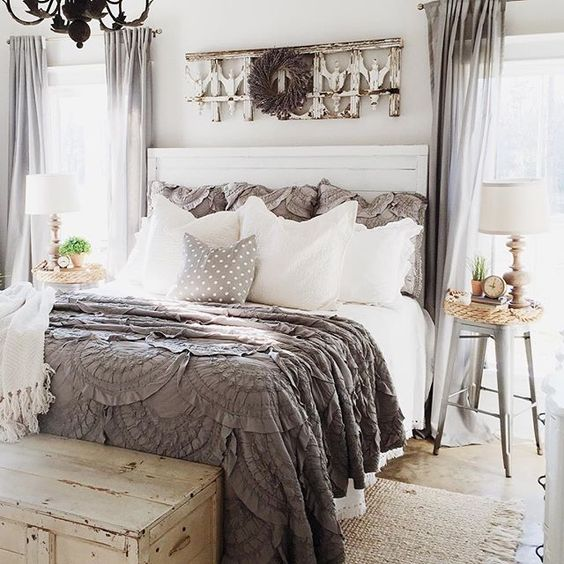 Give Your Small Master Bedroom a Shabby Chic Look