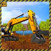 Heavy Excavator Simulator 2018: Road Construction