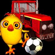 El Pollito y el Tractor de la Granja