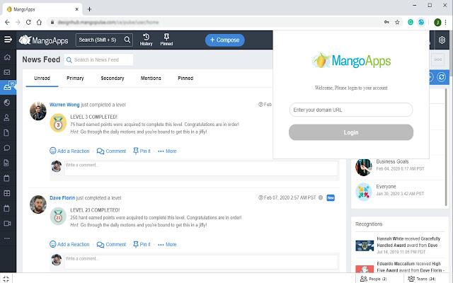 MangoApps for Chrome