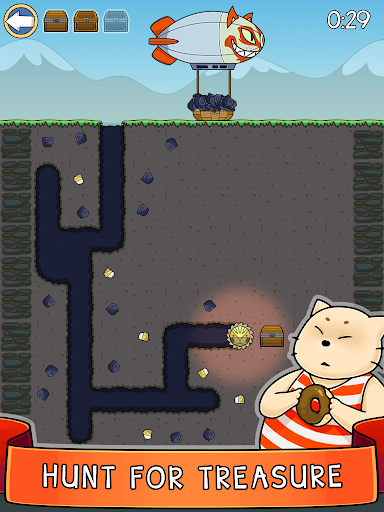 Dig it! - idle cat miner tycoon apktram screenshots 9