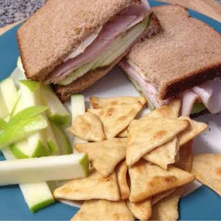 Apple, Brie & Turkey Sandwich.