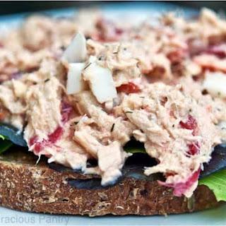 Clean Eating Tuna Salad.