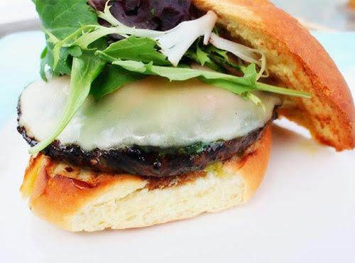 Grilled Portobello Mushroom Burgers With Dill-must Recipe