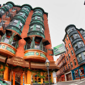 Boston's North End by Chip Bolcik - City,  Street & Park  Neighborhoods ( pwcdetails )