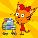 Kid-E-Cats Shopping Games for Kids & Three Kittens icon