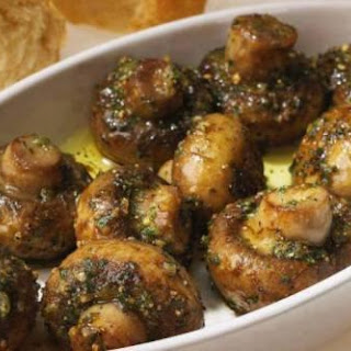 Roasted Garlic Mushrooms.