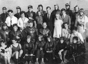 Photo: Corbally Baths, happy group of Club Members.